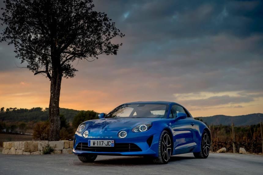 Premier prix outre-manche pour la nouvelle Alpine A110