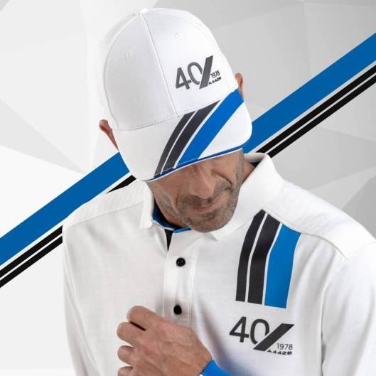 casquette adulte blanche Alpine Collection 1978 boutique anniversaire 40 ans 24 heures du mans