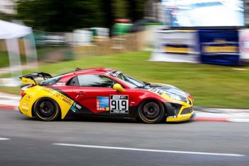 FFSA GT: Alpine en top 2 à la Course 2 à Pau