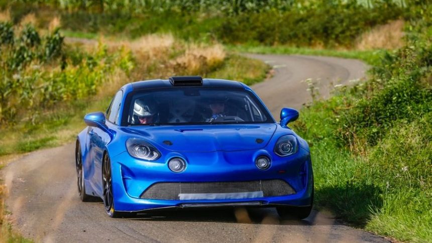 L'Alpine A110 Rallye se montre enfin !
