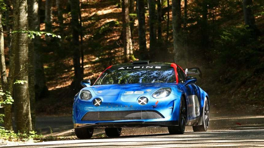 L'Alpine A110 Rally / R-GT en vidéo !