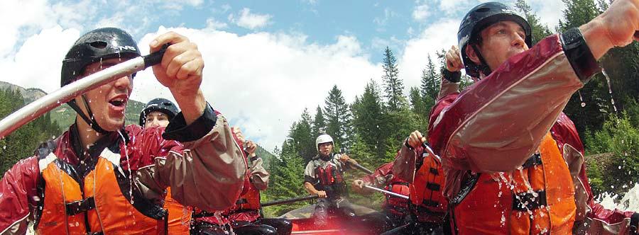 Canadian Rockies in Summertime