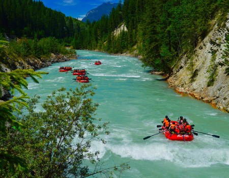 Kicking Horse River Summer Jobs