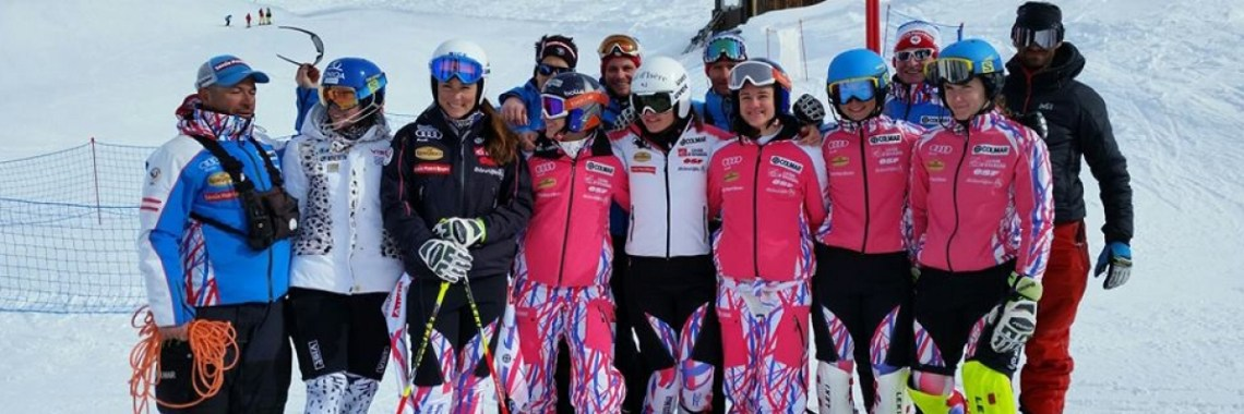 """French Team """" GS-SL group """" on training in La Rosières """""""