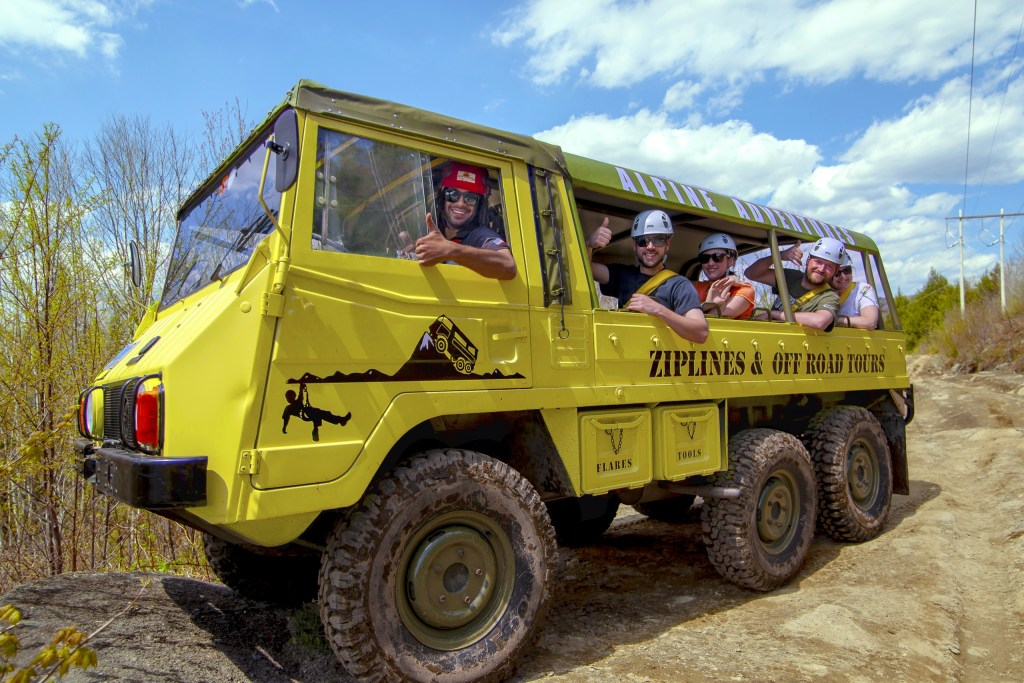 Pinzgauer Off-Road Tour