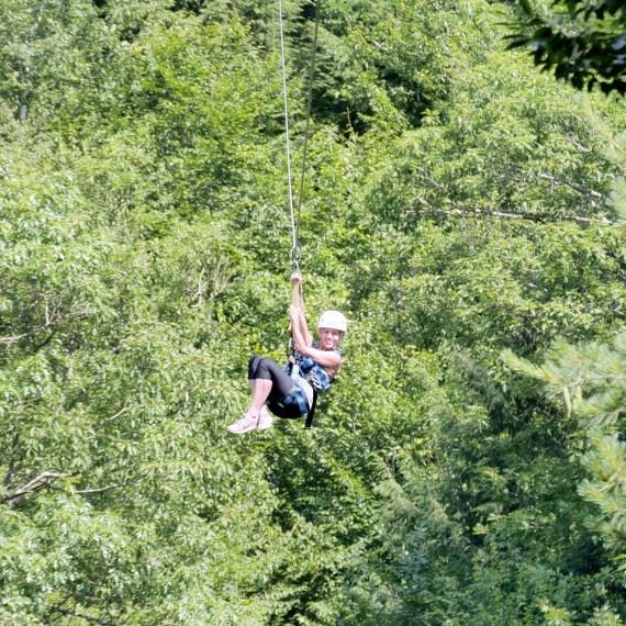 Summer Ziplining Tour