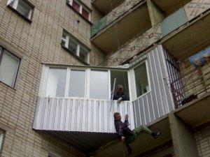 Ремонт балкона Промышленные альпинисты Москва и Московская область (ООО Альпинисты-М)