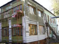 Монтаж мокрого фасад утепление
