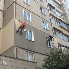 Утепление квартиры, здания и частного дома снаружи альпинистами