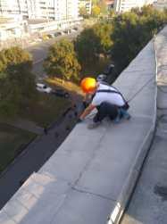 Устранение протечки на крыше