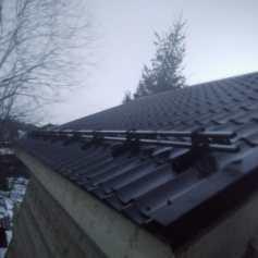 Ремонт снегозадержателей