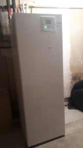 Unité intérieur Hitachi pompe à chgaleur air-eau + eau chaude sanitaire Saint Martin d'Uriage 2020