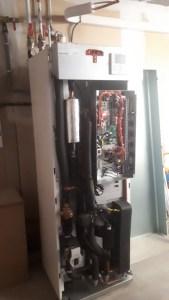 Unité intérieur Hitachi pompe à chaleur air-eau St Martin d'Uriage 2020