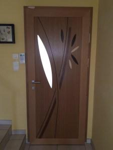 Porte bois - aluminium Méo  2