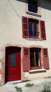 Fenêtre PVC chêne doré Le Mottier 2