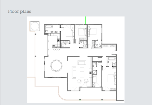 Les Fagots Floor Plan