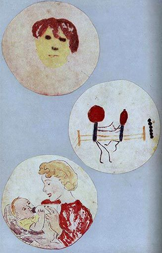 Fleming, the painter of microbial pictures