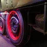 Un tren sobre neumáticos