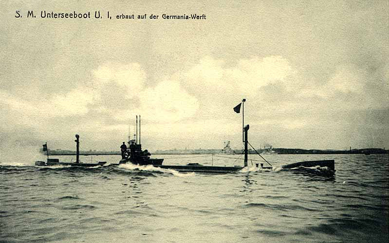 Equevilley: El ingeniero que diseñó los submarinos alemanes de la Primera Guerra Mundial