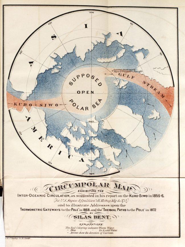 El mapa Ártico de Silas Bent