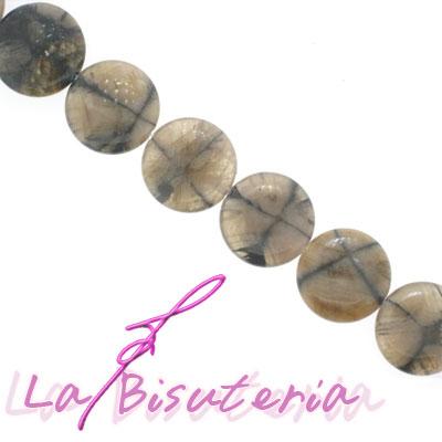 Andalucita (quiastolita) discos. Tira de 40cm.