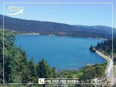 برنامج سياحي عائلي في تركيا - بحيرة سبانجا .