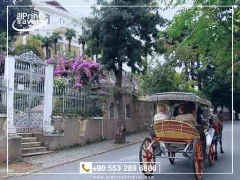برنامج سياحي في اسطنبول لمدة 6 ايام - جزيرة الاميرات