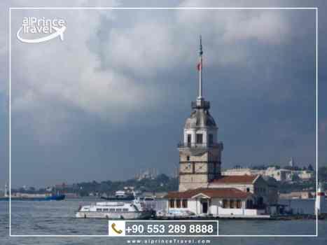 برنامج سياحي لتركيا لمدة 12 يوم - برج الفتاة.