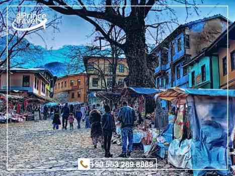 برنامج سياحي لتركيا لمدة 12 يوم - مدينة بورصة الخضراء.