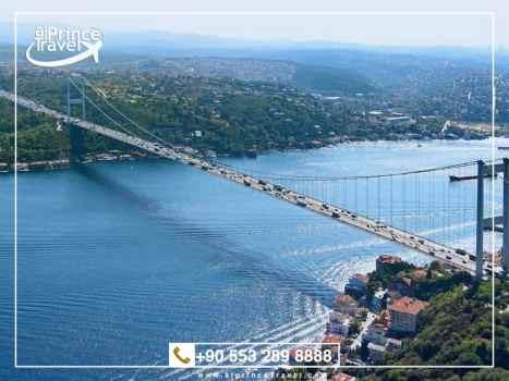 برنامج سياحي لتركيا لمدة 5 ايام - مضيق البوسفور