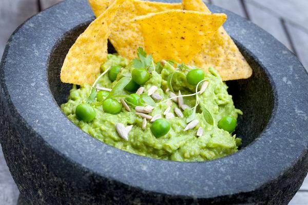 Peacamole - A New Twist on Guacamole