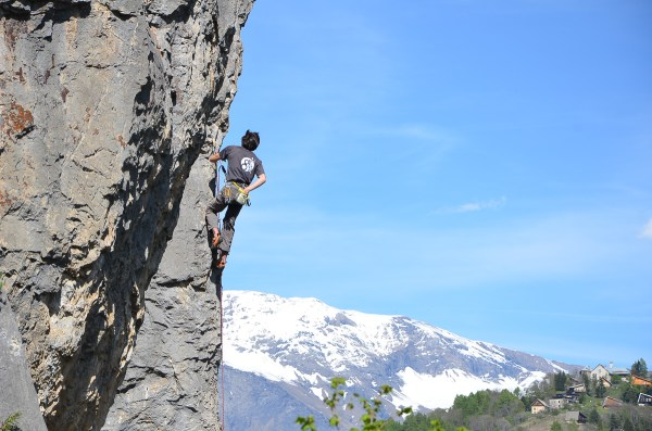 Rock Climbing in the Southern French Alps