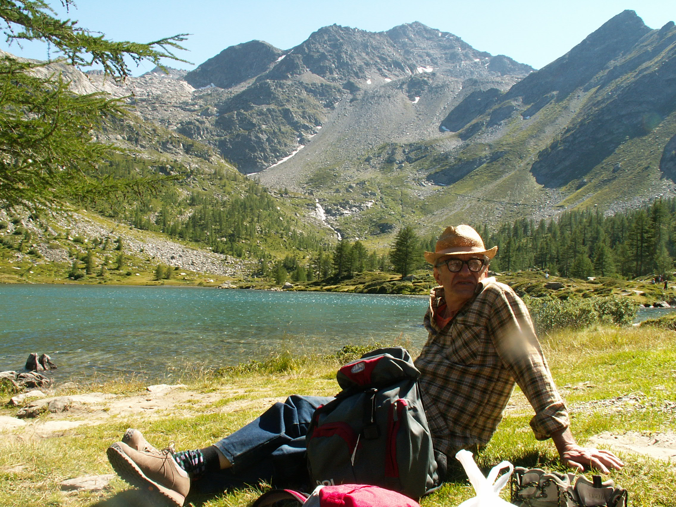 Ennio al Lago d'Arpy