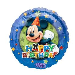 Doğum Günüm Mickey Mouse mutlu yıllar