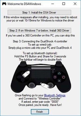 DS4Windows ile PlayStation 4 DualShock 4 oyun kolunu PC'nizde kullanın