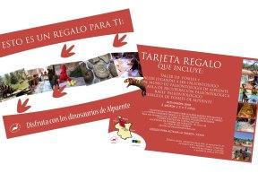 presentación TARJETA REGALO FAMILIAR
