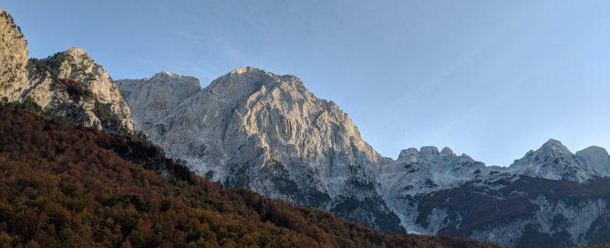 Kollata hiking Albania Montenegro