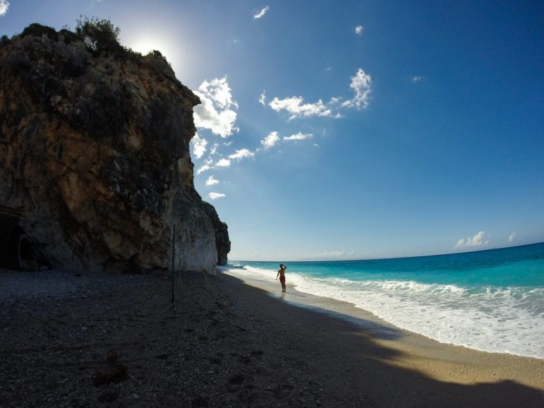 Gjipe beach Southern Albania