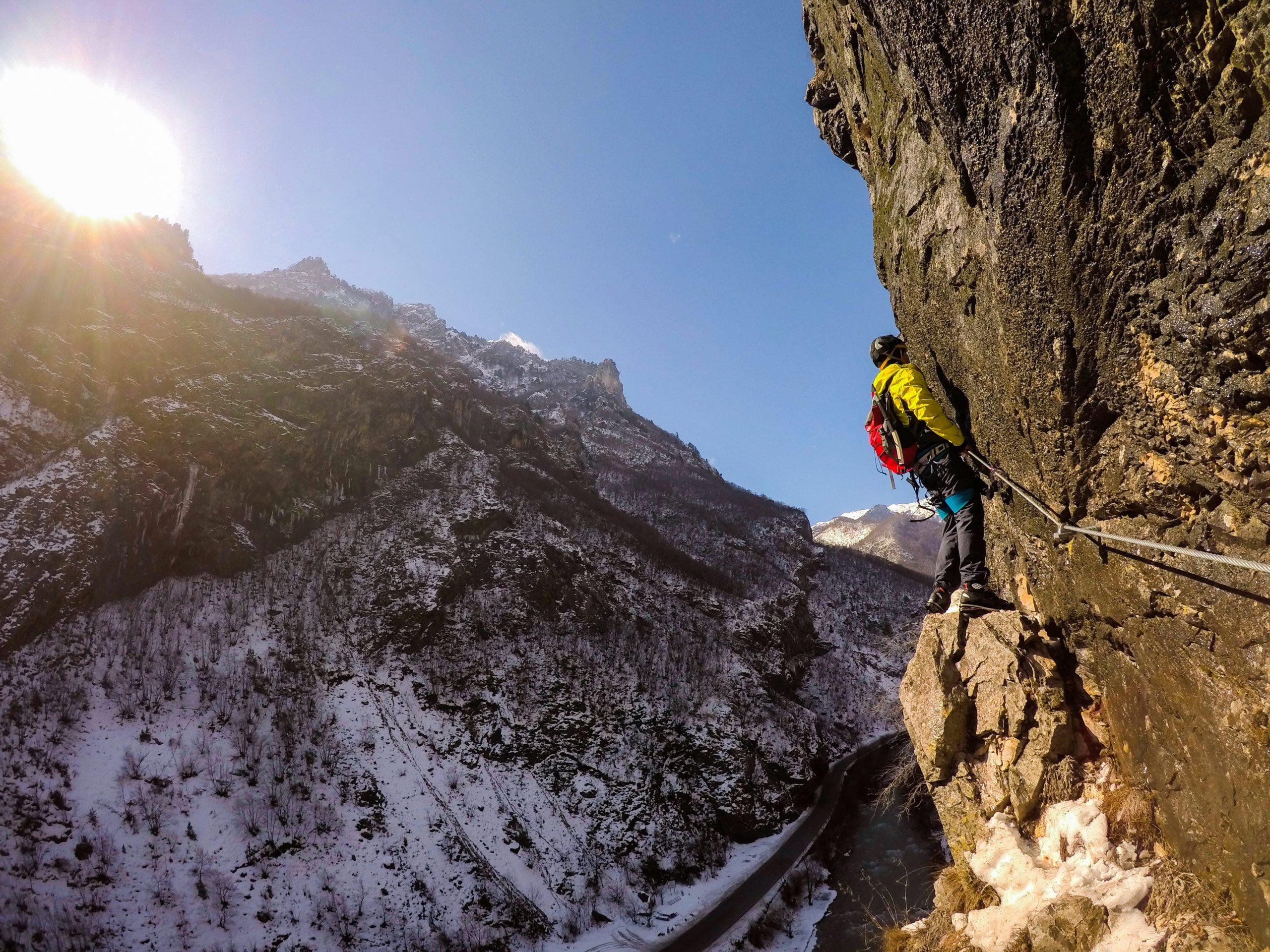 Rugova Canyon Via Ferrata