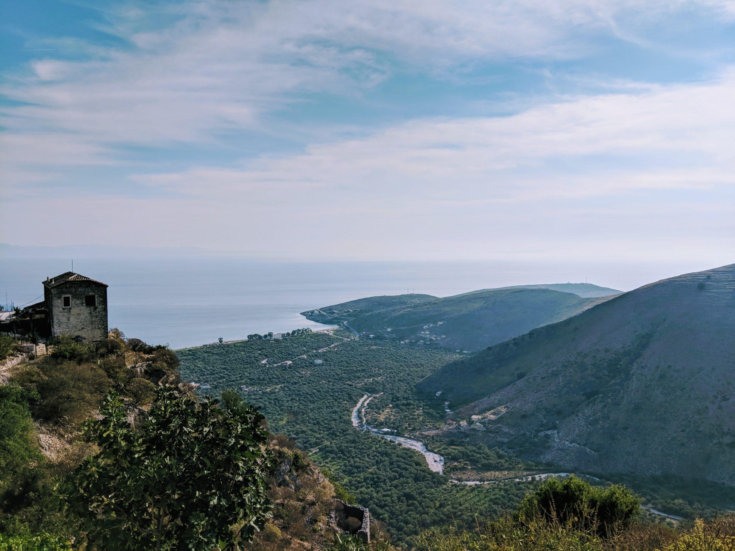 Kudhes to Qeparo Albania