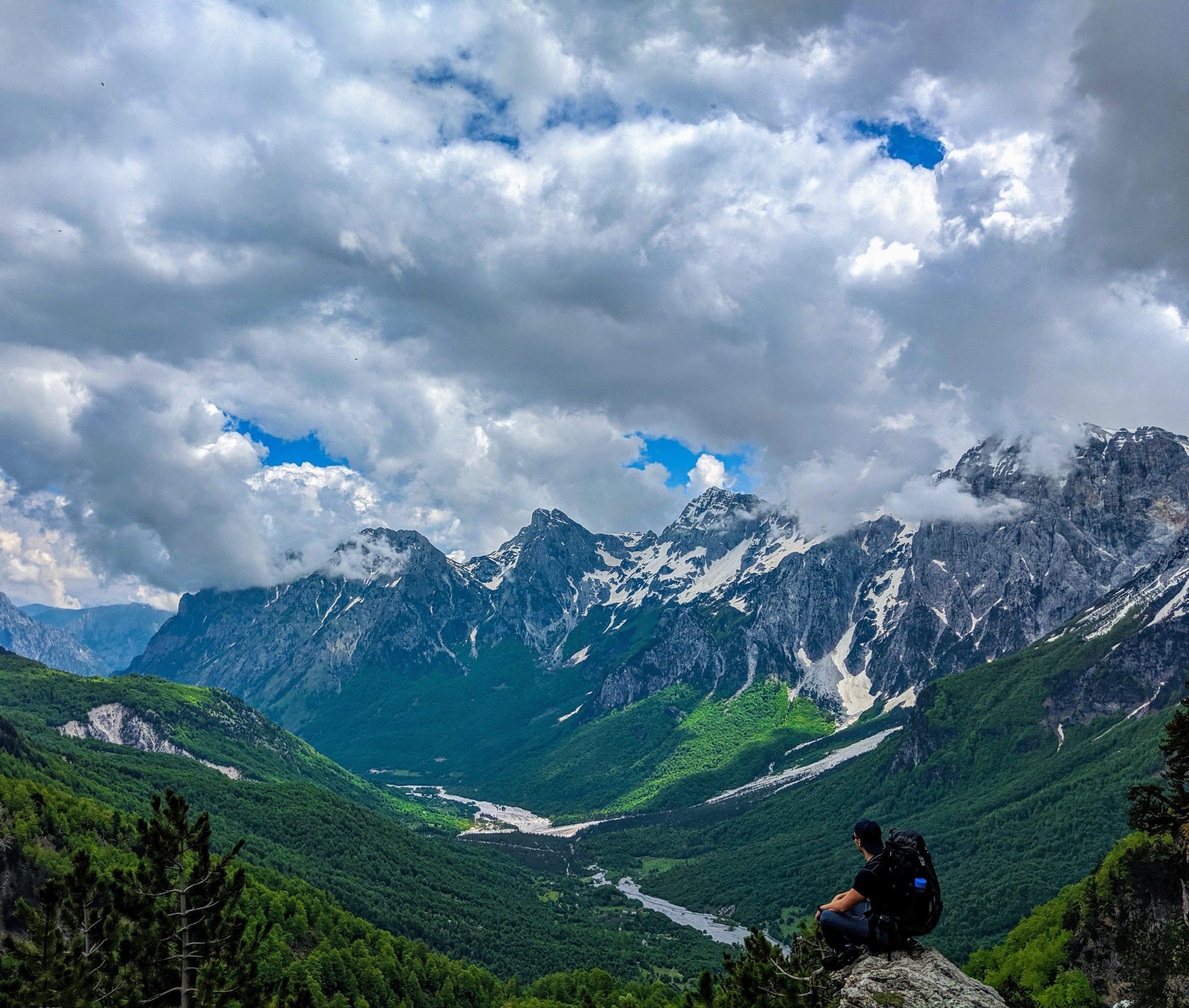 hiking Valbone Theth