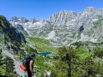 Jezerca lakes from Valbona, a challenging off-trail hike