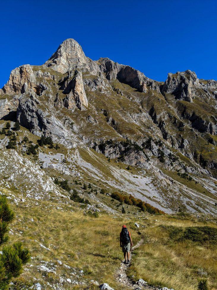Rosi pass Vusanje Valbona