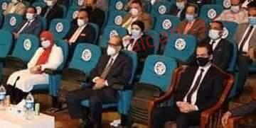 """صورة النائبة دعاء عريبي تشارك في افتتاح مؤسسة اصدقاء جامعة طنطا """" مستشفى 900900"""