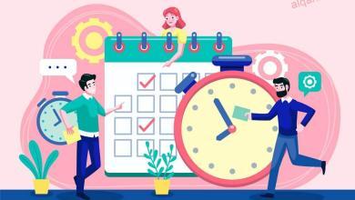 صورة أهمية الوقت وطرق تنظيم الوقت وتحديد الأهداف