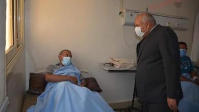 صورة محافظ الوادي الجديد يقدم التهنئة للمرضى بمناسبة عيد الأضحى المبارك