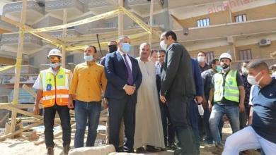 صورة أبو ليمون يتفقد أعمال إنشاء المجمعات الخدمية الجديدة وتوصيل الغاز وتوسعات المدارس بقرى شنشور وسمادون