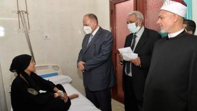 صورة محافظ أسيوط يطمئن على استعدادات المستشفيات العامة خلال عيد الأضحى