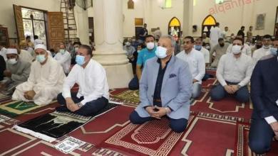 صورة محافظ المنوفية أدي شعائر صلاة عيد الأضحى بمسجد الرى بشبين الكوم