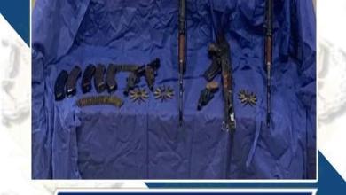 صورة ضبط حائزى الأسلحةالنارية والذخائر غير المرخصة